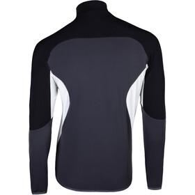UYN Move Sweat-shirt avec demi-zip Homme, charcoal/black/pearl grey